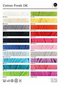 DY Choice Cotton Fresh DK - 100g - 100% Cotton
