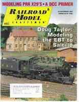 Railroad Model Craftsman Magazine February 2007 Modeling PRR X29's, DCC Primer