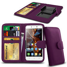 For HTC Sensation XL - Clamp Style PU Leather Wallet Case Cover