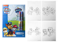 A4 MARKER Paw Patrol COLOURING SET