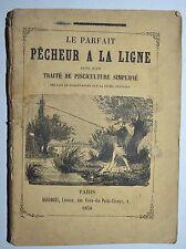 PESCA CON LENZA - figur. 1858 - pecheur a la ligne - Renaud - esche
