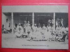 BORDEAUX  :  Exposition Maritime de 1907  -   Le Village Africain.