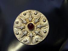 antik Orient nomaden Silber Brosche afghan Jumud  tribal Vintage brooch 17/A