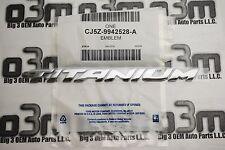 2013-2014 Ford Escape Titanium Rear Lift Gate Emblem new OEM CJ5Z-9942528-A