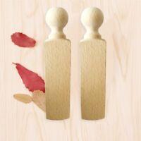 Wooden Protective Door Stopper Door Wedge Wood Stopper Door Hold~ sdRQv Balss