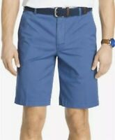 NWT IZOD Men's Shorts Size 52 Saltwater Stretch Relaxed Blue