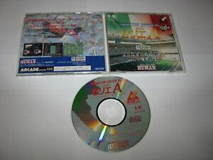 Formation Soccer 95 della Serie A PC Engine Super CD Japan import US Seller