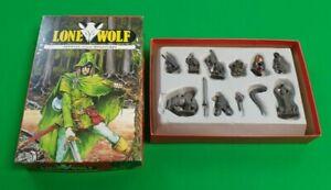 Lone Wolf Official 25mm Miniatures ***VGC COMPLETE!!*** Joe Dever Games Workshop
