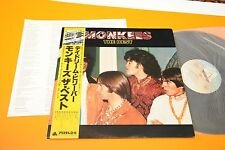THE MONKEES LP THE BEST JAPAN NM AUDIOFILI OBI INSERTO