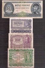 Lot verschiedener Original Banknoten Österreich Ungarn (II)