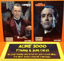 Unstoppable BRITISH HORROR COLLECTION - EXCLUSIVE Dealer Promo Cards EMP1 & EMP2