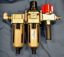 SMC Pneumatics pump assembly: VHS30 AW40 AFM40 AN302 and connectors