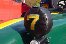 Caterham 7 Lotus Seven Embroidered Headlight Covers