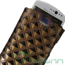Prisms Glossy Case Cover for Sony Ericsson Neo V Color Bronze Holster