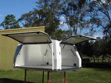 FACTORY SECONDS UTE CANOPY AND TRAY COMBO TO SUIT EXTRA CAB CHASSIS UTE