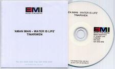 TINARIWEN Aman Iman: Water Is Life 2008 UK 12-track promo publishing CD