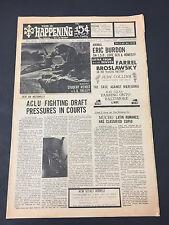 This  Happening underground newspaper 1968 Eric Burdon Judy Collins Tim Buckley