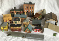 Big Bundle Of 14+ Buildings For Rail Layout HO Scale Hornby Triang Airfix Etc