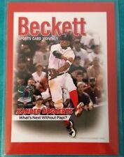2016 BECKETT COVER XANDER BOGAERTS MOOKIE BETTS #2621/5000 BOSTON RED SOX