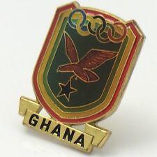 Rainbow Ghana Olympic Pin F970