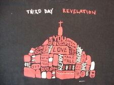Third Christian Rock Band Revelation Album Cross Black T Shirt L