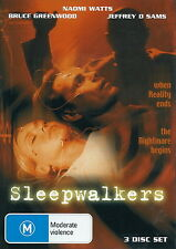 Sleepwalkers - Horror / Thriller / Fantasy - Naomi Watts - RARE - 3 DISC NEW DVD