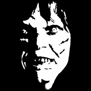 "6"" EXORCIST Vinyl Decal Sticker Car Window Laptop Horror Scary Halloween Creepy"