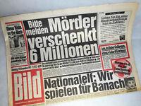 Bildzeitung vom 19.11.1991 New Kids on the Block  25. 26. Geburtstag