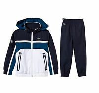 LACOSTE Men's Fashion Sports Hooded Jacket +Jogging Pants Tracksuit 2pcs 90751