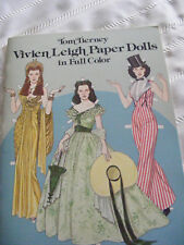 Tom Tierney Vivien Leight Paper Dolls In Full Color Book New Uncut