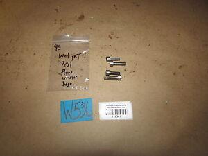 WetJet 1995 ZX 701 Air Box Base Bolts Flame Arrestor Housing Hardware Duo Kraze