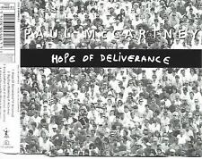PAUL McCARTNEY - Hope of deliverance CDM 4TR Holland Print 1992 (PARLOPHONE)