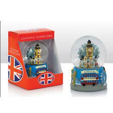 London Collage Souvenir Snow globe Snow dome Snow storm British Souvenir Gift