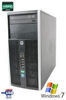 HP 6305 Pro DualCore AMD A4-5300B 2x 3.40 GHz 4GB 250GB RAM DVD-RW Win7 Pro