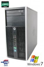 HP 6305 PRO DUAL CORE AMD A4-5300B 2x 3.40 GHZ 4GB 250 GB RAM DVD-RW WIN7 PRO