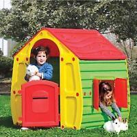 Casetta giochi casa per bambini gioco da giardino ed esterno cm 102X90X109h