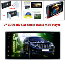 "7"" 2DIN Android 8.1 HD Bluetooth AUX Car Stereo Radio MP5 Player w/ Rear Camera"