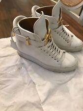 Ladies Buscemi High Tops Trainers Size 35 Cost £640 Worn Twice