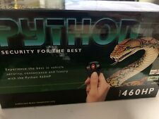 Python Auto Security System Model 460HP Vintage NEW Car Alarm