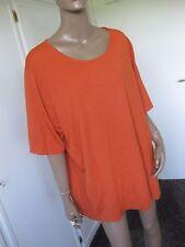 Ulla Popken  traumhaftes Shirt  58/60 kurzarm orange
