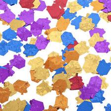 Confettis et cotillons de fête rouge pour la maison