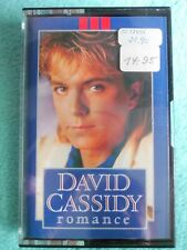 David Cassidy - Romance - 1985 - Arista Records. - Kassette - tape - MC- Pop 80s