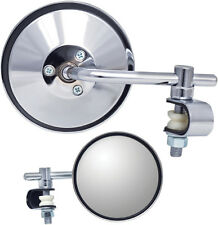 """Parts Unlimited 4"""" Stem Universal Clamp-On Mirror"""