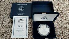 2010-W American Silver Eagle (1oz) Proof Coin MINT BOX & COA