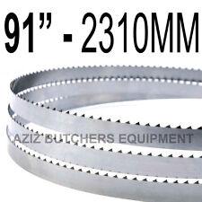 "Butchers Meat Bandsaw Blades (5 Pack). 91"" (2310mm) X 5/8"" X 4tpi"