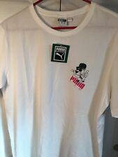 Puma Graphic Tee- Shirt Size Large White NWT