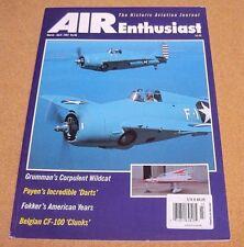 AIR Enthusiast Magazine Historic Aviation #681997 CF-100 Airship Fokker Grumman