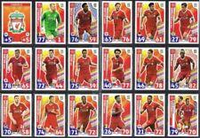Liverpool Football Trading Cards 2017-2018 Season