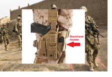 Holster M9A1 Military USMC Blackhawk Omega Drop Leg MOLLE PALS Tactical Vest USA