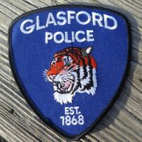 "Glasford Illinois IL Police Tiger 4.25"" Law Enforcement Patch"
